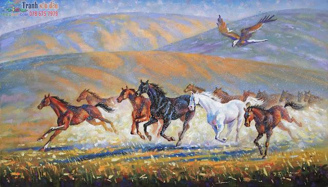 tranh ngựa