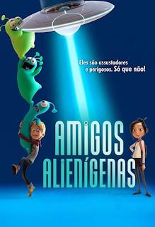 Baixar Amigos Alienígenas Torrent Dublado - BluRay 720p/1080p