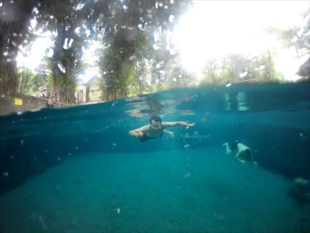 Foto dalam Air Sumur mber / sumber kandangan