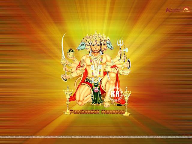 Five Face Of Panchmukhi Hanuman