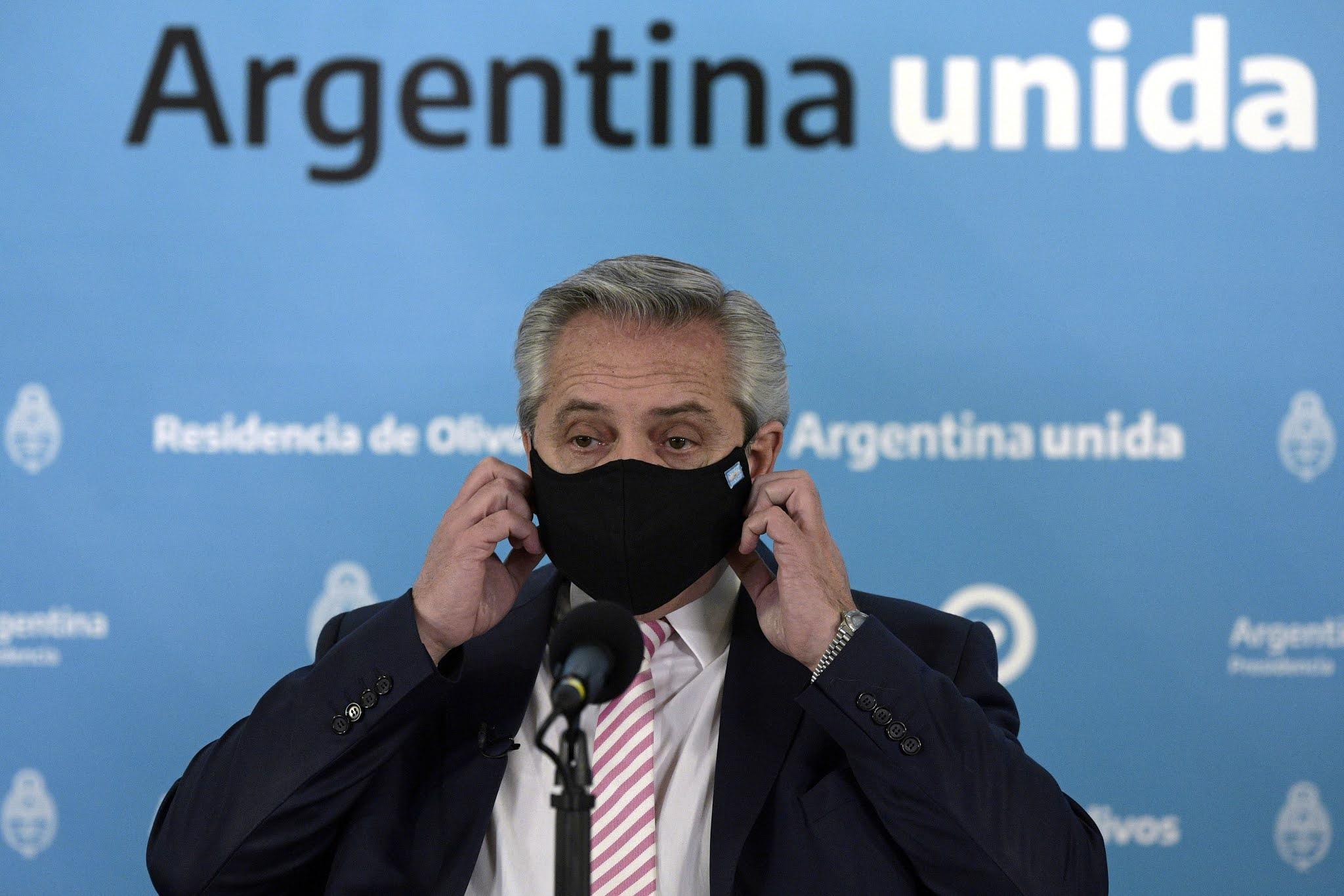 Alberto Fernández anuncio cuarentena