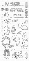 MFT Polynesian Paradise Clear Stamps