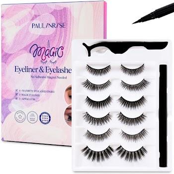 50% OFF Paulinrise Magic Eyeliner and Eyelashes Kit