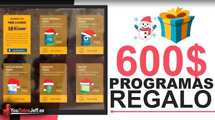 Regalo de Navidad - 600$ en Programas