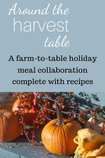 A holiday meal complete with recipes! Come join us around the harvest table.