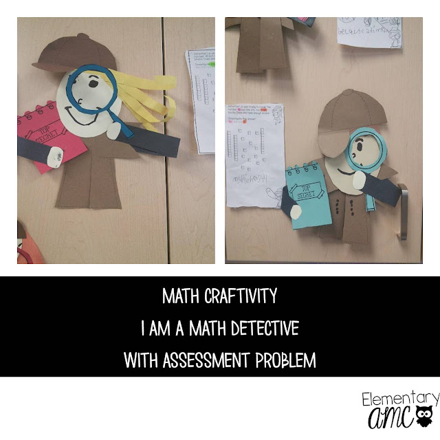 math detective craftivity
