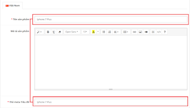 Tự động nhập meta tag title sản phẩm trong Opencart