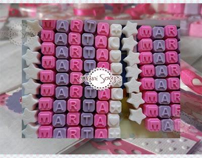jabones nombre letras jabon