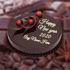 Cake gift for beloved on New Year Occasion or Xmas