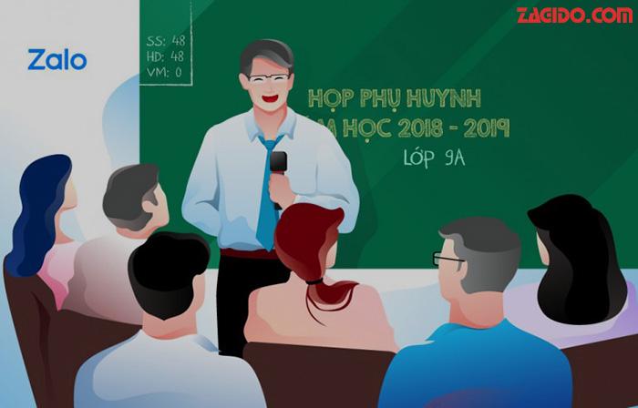 Nhóm zalo - Phương tiện liên lạc giữa Giáo viên và Phụ huynh hiệu quả