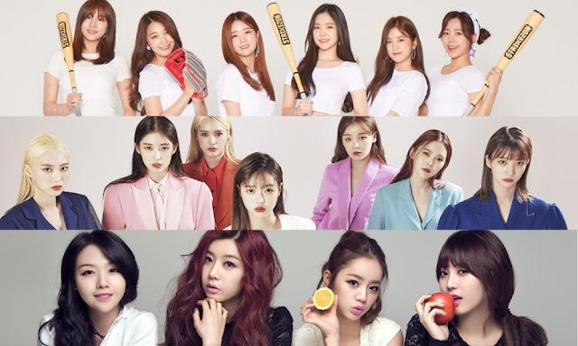 Üye değişikliğinden sonra popüler hale gelen kız grupları