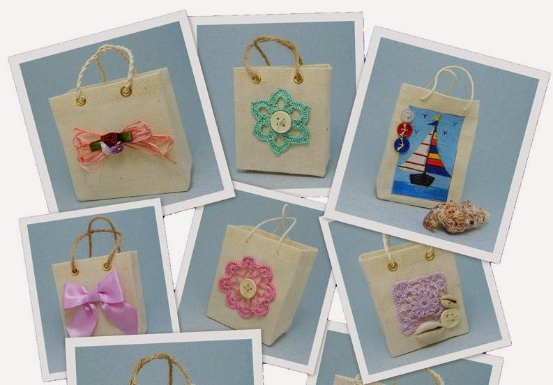 Упаковка для подарка из ткани.  Packing for a gift of cloth.