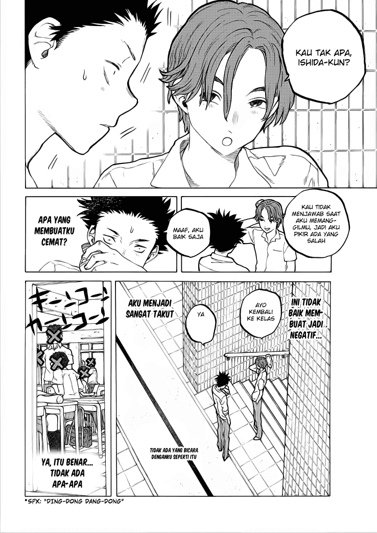 Koe no Katachi Chapter 37-17