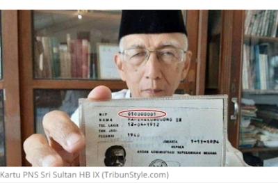 Inilah PNS Pertama di Indonesia Pemilik NIP 010000001, Ternyata Sosok yang Disegani dan Dihormati