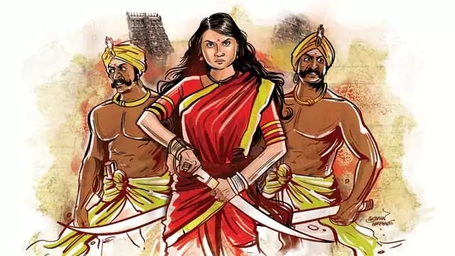 Veeramangai Velu Nachiyar Kuyili - the First Indian Princess to fight the British