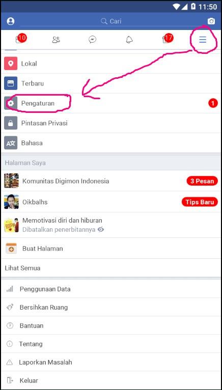 Cara Melihat Pesan Fb Teman Di Android : melihat, pesan, teman, android, Mencolek, Teman, Aplikasi, Facebook, Tutorial