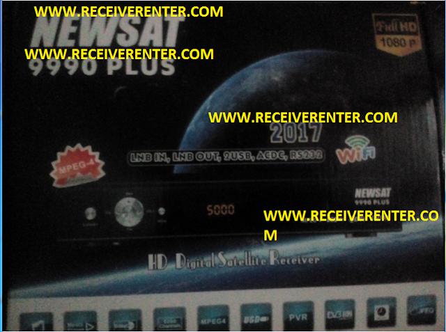 NEWSAT 9990 PLUS 2017 HD RECEIVER CCCAM OPTION