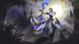 Mirana DOTA 2 Wallpaper, Fondo, Loading Screen