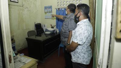 Wakil Bupati Asahan Berkeliling  Kantor Kelurahan Kisaran Kota