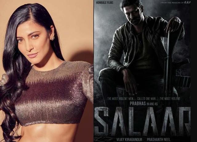 Prabhas is warm and humble, says actor Shruti Haasan