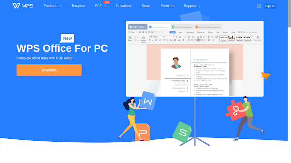 WPS Office Community Alternatif Microsoft Office di Linux