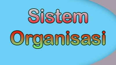 Pengertian Sistem pada Lembaga atau Organisasi