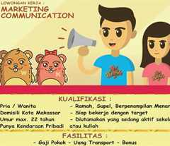Lowongan Kerja Marketing Communication di Kar Waffle