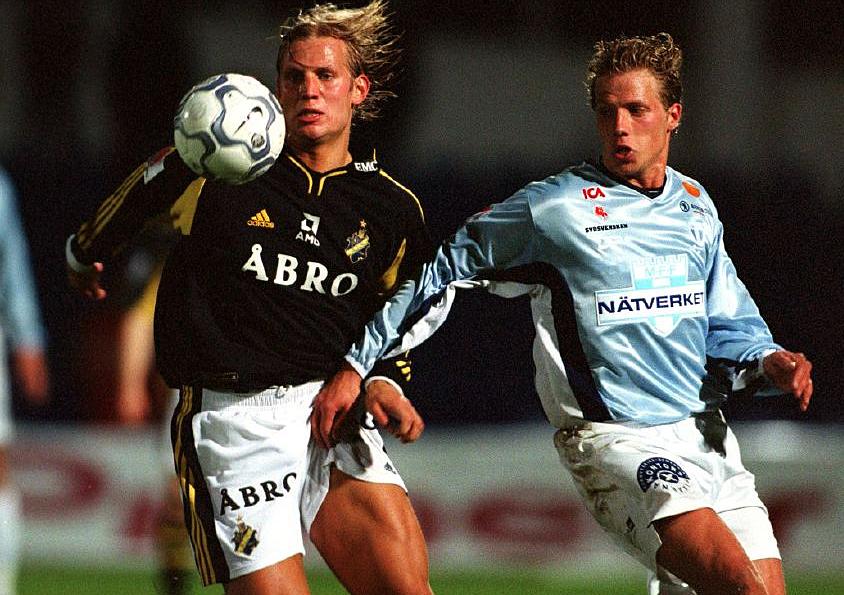 Fotboll allsvenskan 2000 08 14