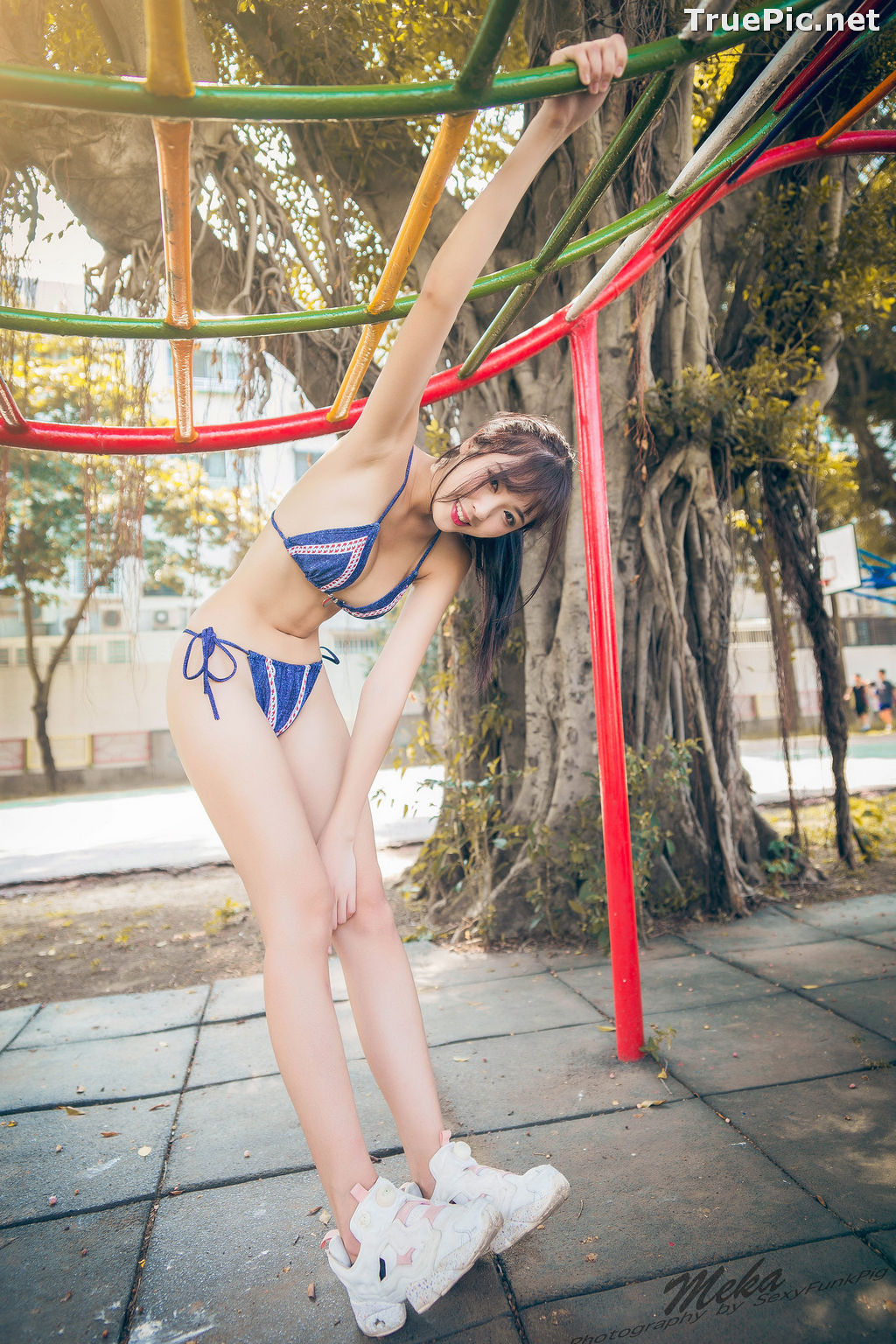 Image Taiwanese Model - 怡蒨兒Meka - Beautiful and Sexy Sport Girl - TruePic.net - Picture-6