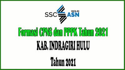 Alokasi Formasi CPNS dan PPPK KAB. INDRAGIRI HULU Tahun 2021