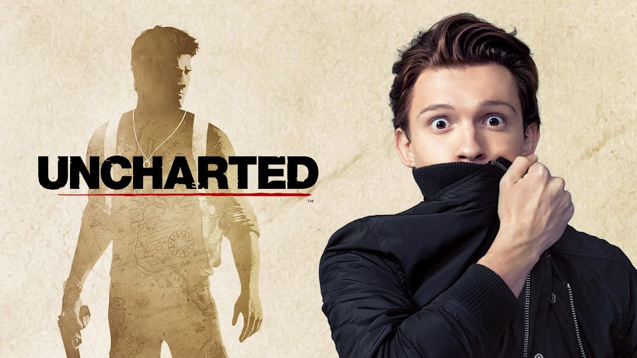 tom holland first set photo uncharted movie sonny pictures playstation productions naughty dog