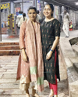 Samantha visits Tirumala with RJ Ramya HeyAndhra