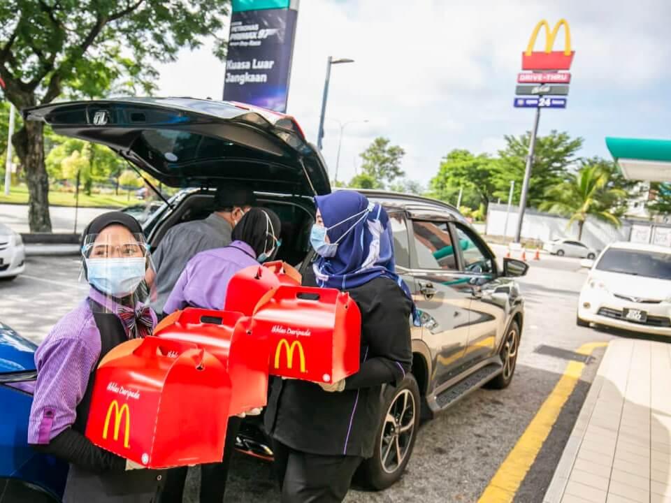 McDonald's Taja Makanan Hospital Sungai