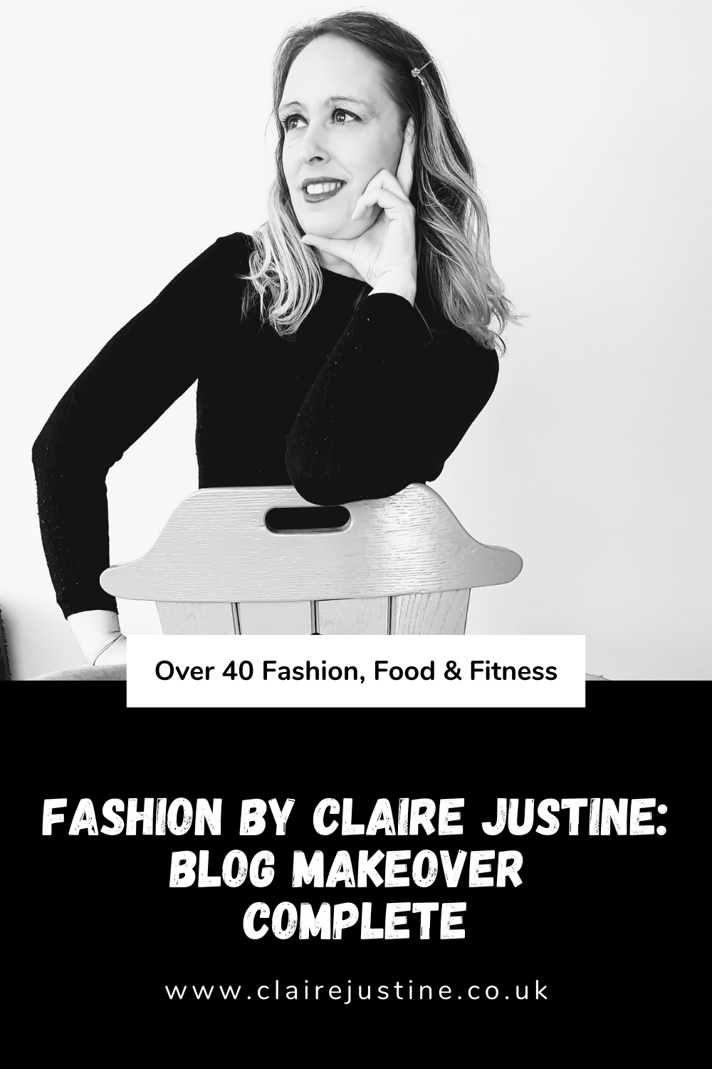 Fashion By Claire Justine: Blog Makeover Complete.