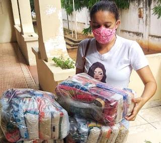 Governo inicia entrega de 250 mil cestas básicas para alunos da Rede Estadual de Ensino