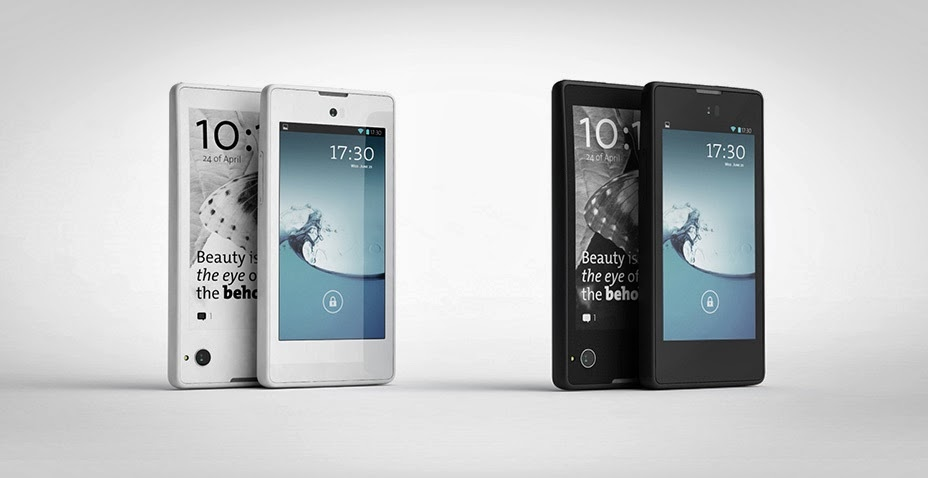 World's First Dual-Screened Smartphone by YotaPhone