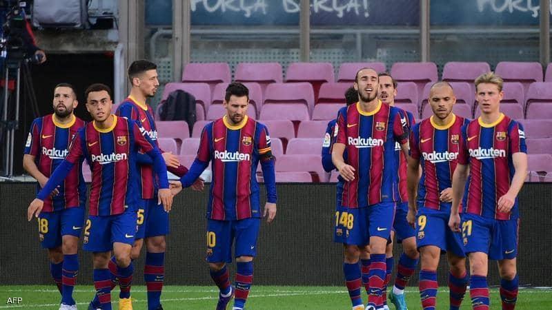 تقرير مباراة برشلونة امام ريد بول سالزبورغ مباراة ودية