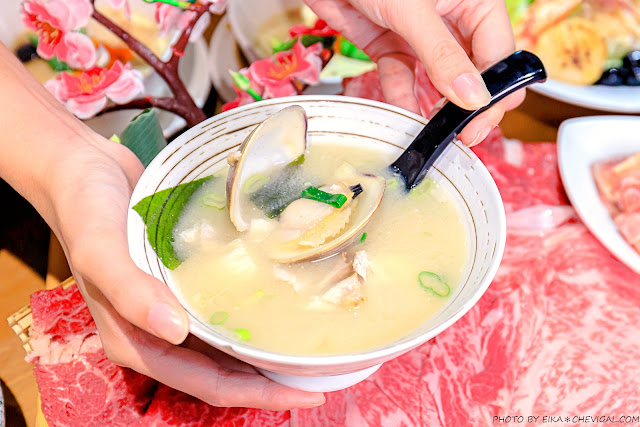 MG 2074 - 熱血採訪│海大蛤味噌湯,整碗的用料非常大方!台中當月壽星鮭魚三重奏免費吃!