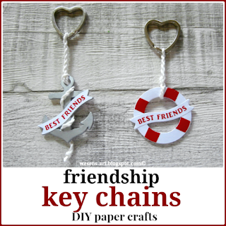 FriendsKeyChains wesens-art.blogspot.com
