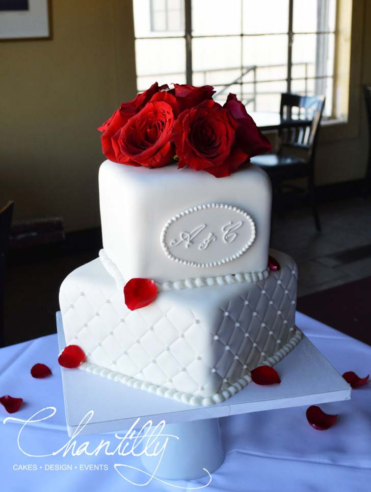 3 Tier Wedding Cakes 87 Lovely  Two Tier Wedding