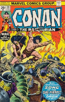 Conan the Barbarian #59, Belit