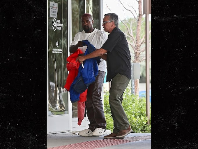 Kanye West visits hospital over anxiety after apologising to his wife Kim Kardashian for 'going public' with their 'private matter'