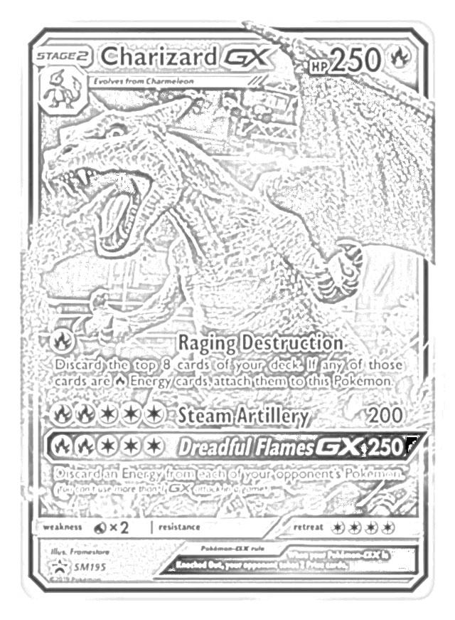 Coloring page Mega Evolved Pokémon : Mega Garchomp 445 445   871x640