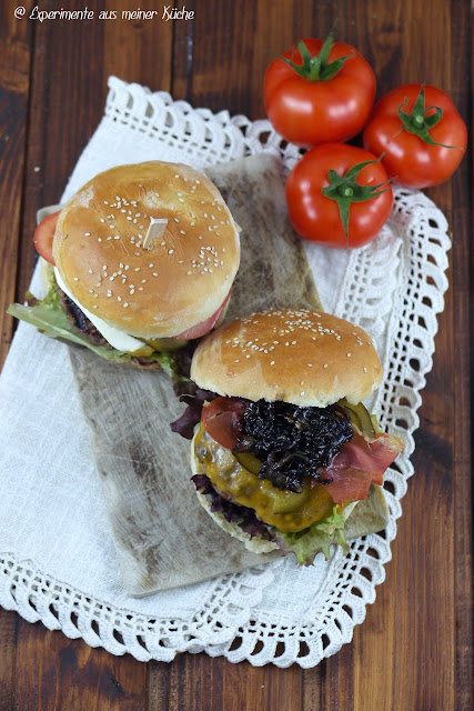Experimente aus meiner Küche: Cheeseburger {Burger Time}