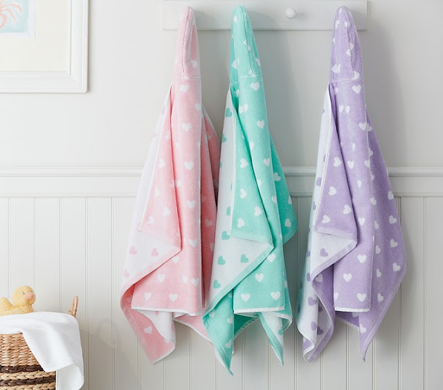 Pottery Barn Hooded Towels