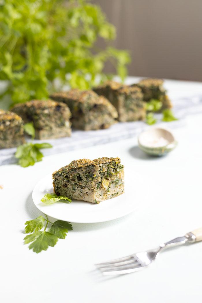 omlet ziołowy przepis