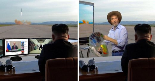 Kim Jong Un ve despliegue de un misil y le hacen Batalla PS