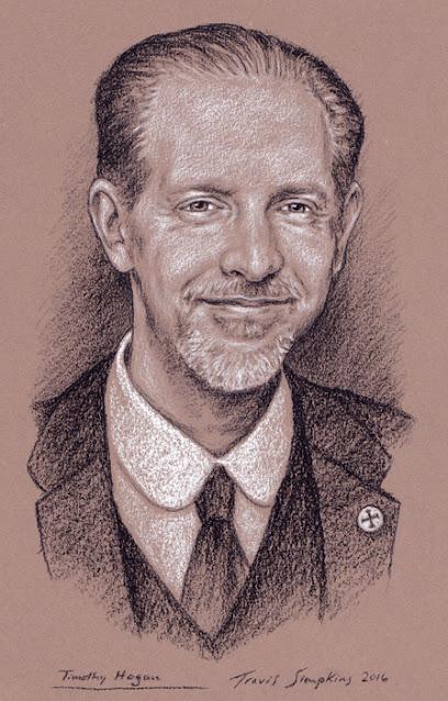 Timothy Hogan. Grand Master, Knights Templar. Freemason. by Travis Simpkins