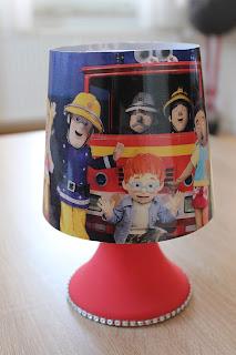 LED-Lampe mit Timerfunktion Feuerwehrmann Sam Die Eiskönigin Anna ...