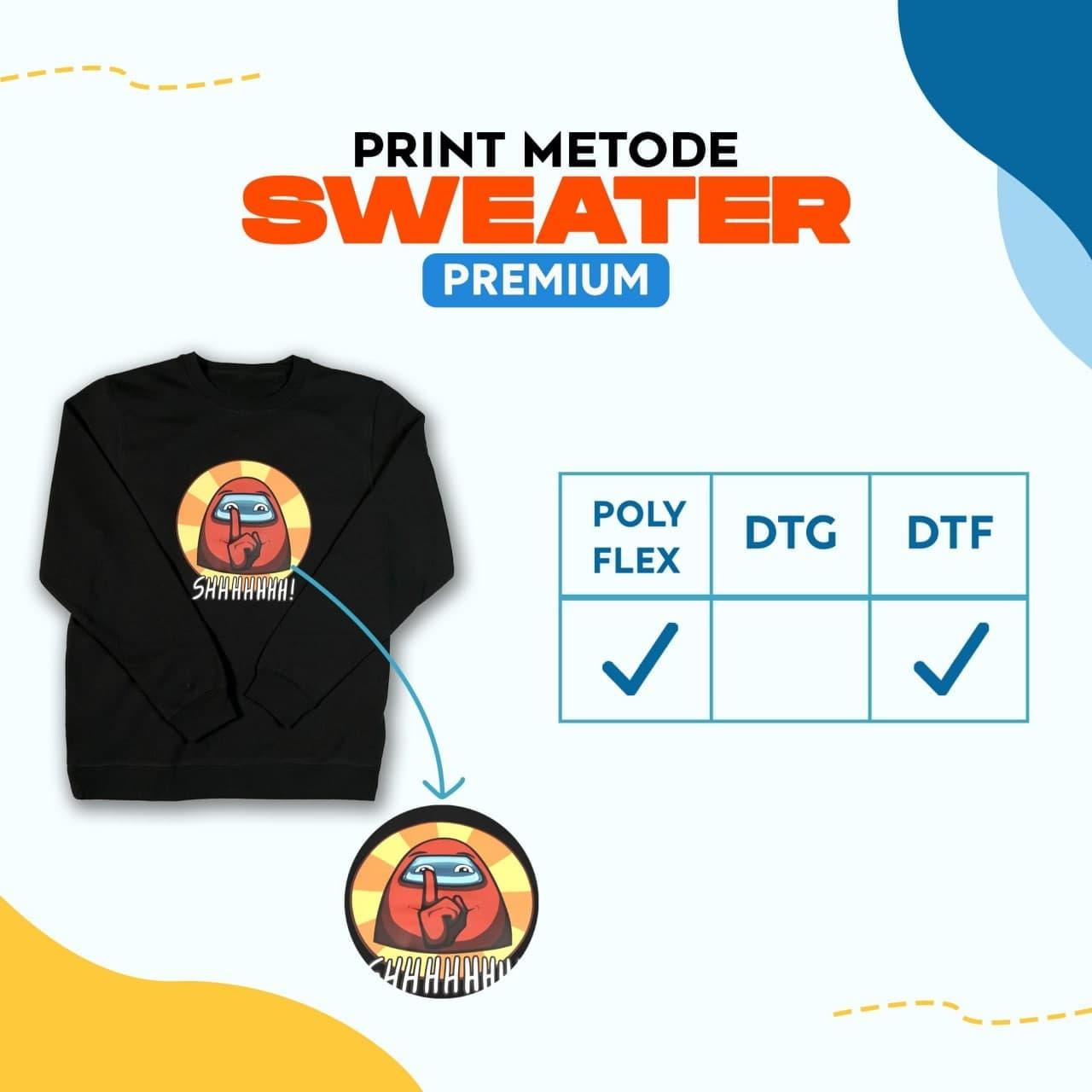 Print Metode Sweater